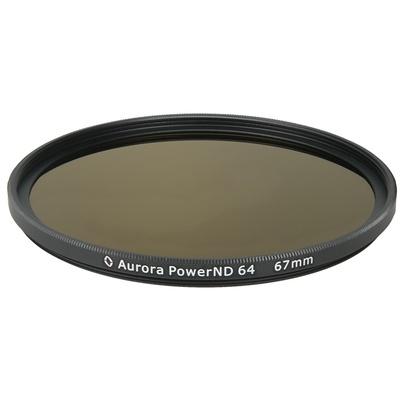 Aurora-Aperture PowerND ND64 67mm Neutral Density 1.8 Filter
