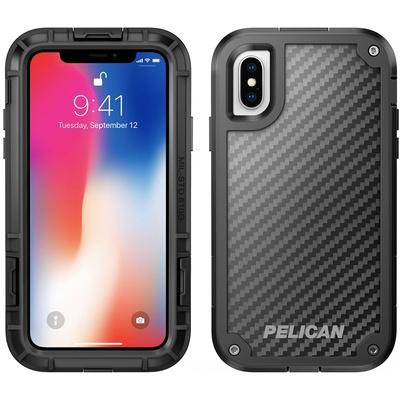 Pelican Shield Case For Apple iPhoneX (Black)