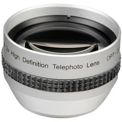 Opteka 37mm 2x High Definition II Telephoto Conversion Lens
