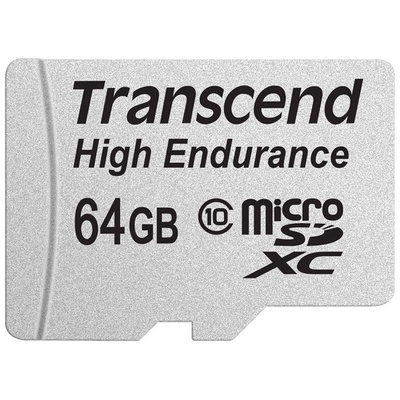 Transcend 64GB High Endurance microSDXC Memory Card