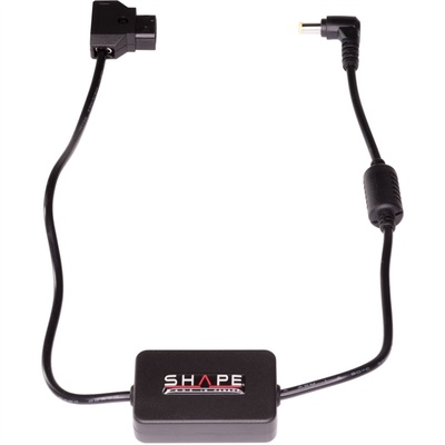 "SHAPE D-Tap to Regulated 12V Power Cable for Panasonic AU-EVA1 & Sony FS7/FS5 Cameras (22"")"