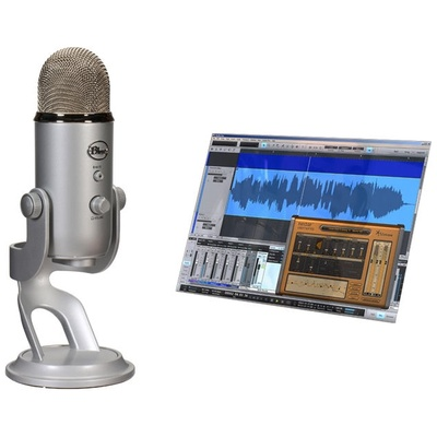 Blue Yeti Studio USB Microphone - Professional Recording System for Vocals