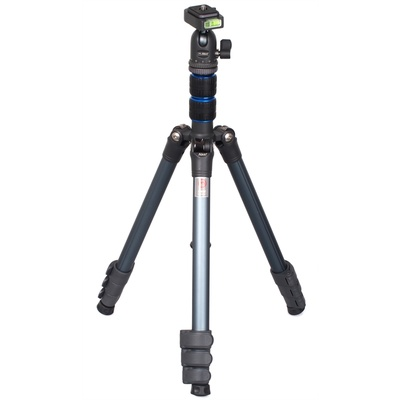 Nest Pioneer NT235K Tripod - 5 Section 1.37m Aluminium (Blue)