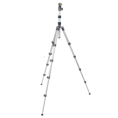 Nest Pioneer NT235K Tripod - 5 Section 1.37m Aluminium (Silver)