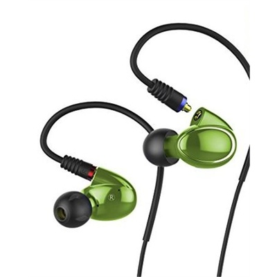 FiiO FH1 Balanced Armature-Dynamic Hybrid In-Ear Monitors (Green)