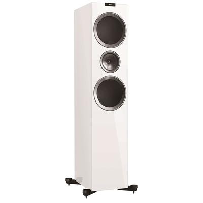 KEF R900W Floor standing Speaker (White, Pair)