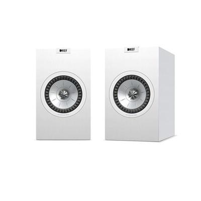 KEF Q150W Bookshelf Speaker (White, Pair)