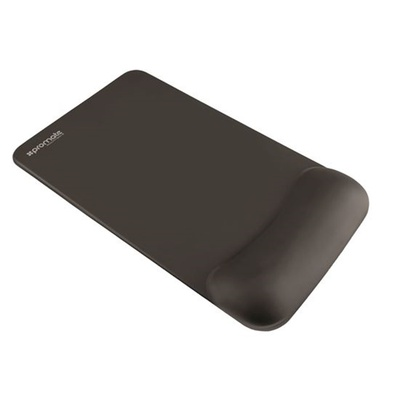 Promate Non-Skid Mouse Pad With Memory Foam Wrist Support