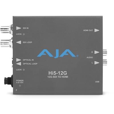 AJA Hi5-12G SDI to HDMI 2.0 Converter