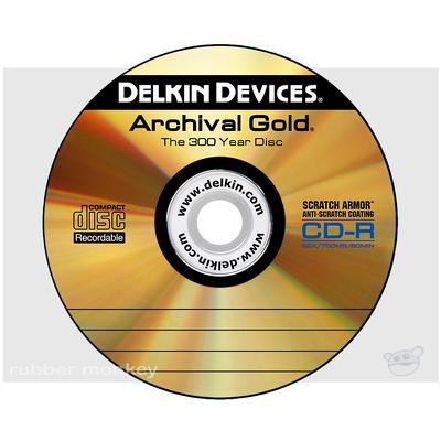 Delkin Archival Gold CD-R Disc