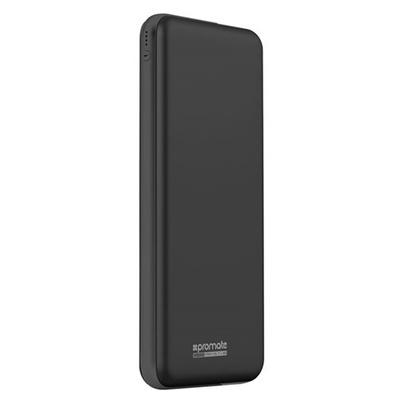Promate proVolta-30 30000mAh 3-Port Ultra-Slim Power Bank (Black)