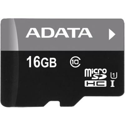ADATA 16GB Premier microSDHC UHS-I Memory Card (Class 10)