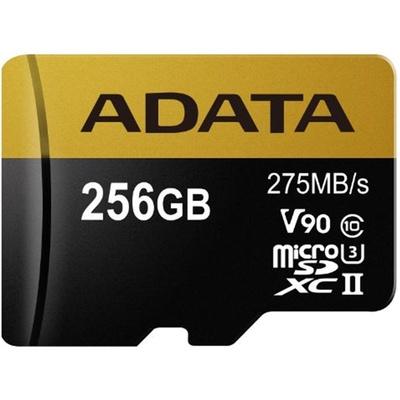 ADATA 256GB Premier ONE V90 UHS II Micro SDXC Memory Card