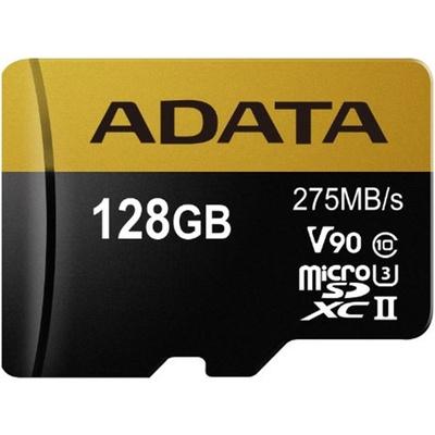 ADATA 128GB Premier ONE V90 UHS II Micro SDXC Memory Card