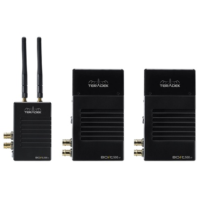 Teradek Bolt 500 XT SDI/HDMI Wireless TX/RX Deluxe Kit (V Mount)