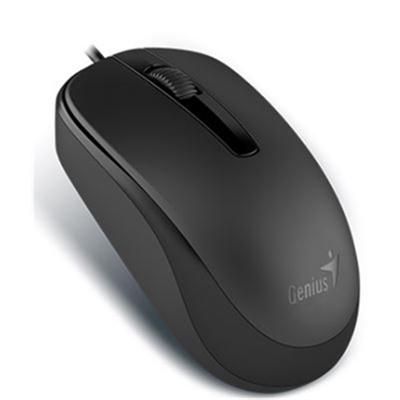 Genius DX-120 USB Wired Mouse (Black)