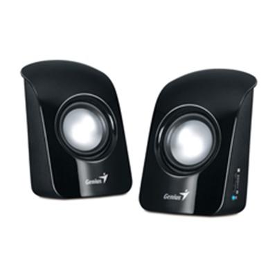 Genius SP-U115 USB Powered Mini Speakers (Black)