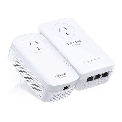 TP-Link WPA8630P KIT AV1200 Powerline Kit Wireless-AC1200 w/PassThru