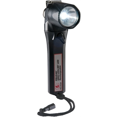 Pelican 3660 Little Ed Rechargeable Recoil LED Right Angle Flashlight (Black)