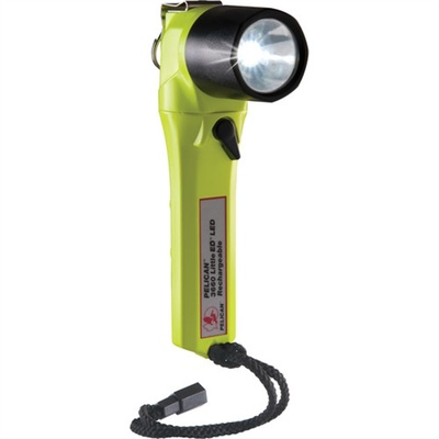 Pelican 3660 Little Ed Rechargeable Recoil LED Right Angle Flashlight (Yellow)