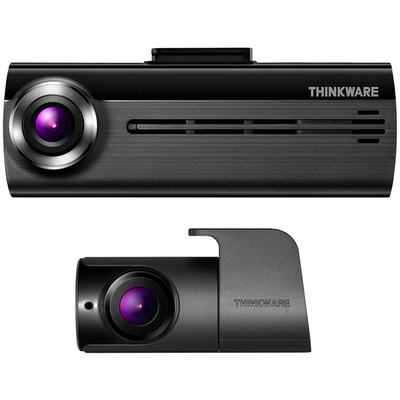 Thinkware FA200 Dash Cam with Rear Cam, Car Power Cable & 32GB MicroSD Card