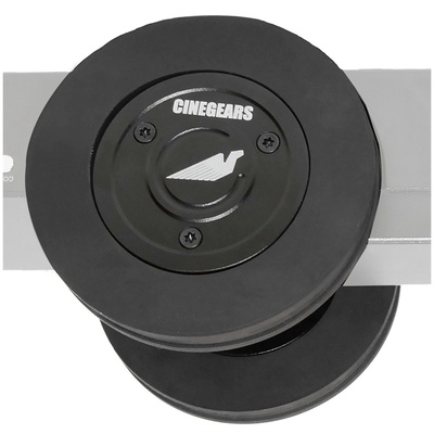 Cinegears 3-0157 Ultra-Friction Rubber Ground Wheel for Pegasus Cablecam (2-Pack)