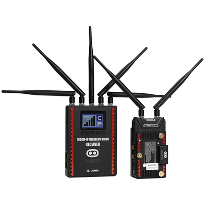 Cinegears Ghost-Eye Wireless HDMI & SDI Video Transmission Kit 1000M ENG (Gold Mount)