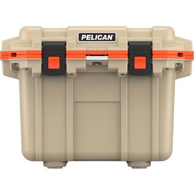 Pelican 30QT Elite Cooler (Tan/Orange)
