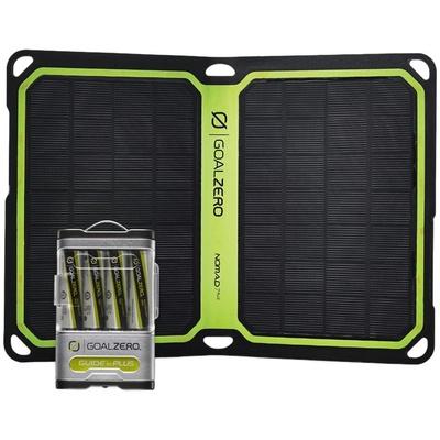 Goal Zero Guide 10 Plus Solar Kit (with Nomad 7+)