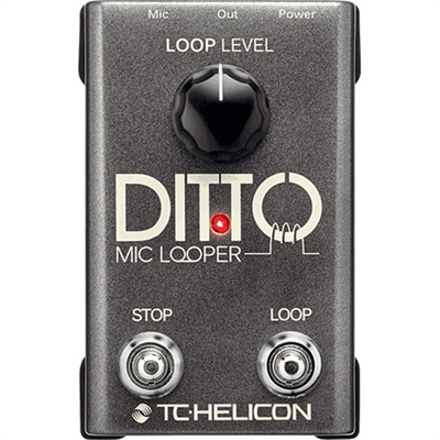 TC-Helicon Ditto Microphone Looper