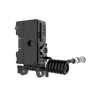 Core SWX Helix Rail Mount Power Management Control with Gold Mount Front for ARRI