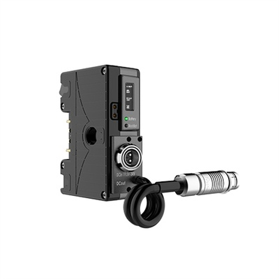 Core SWX Helix Direct Mount Power Management Control with Gold Mount Front for ARRI