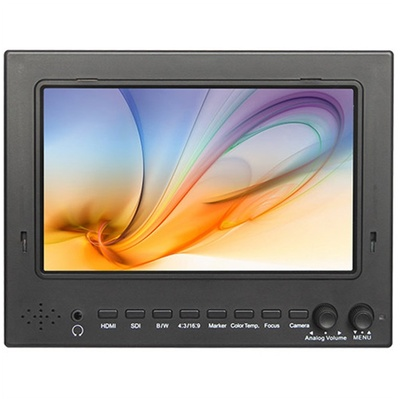 "FeelWorld 7"" IPS Lightweight 3G-SDI HDMI Field Monitor with Peaking & Sunshade"