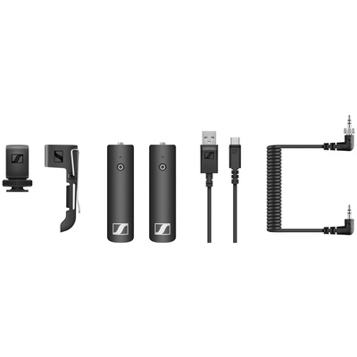 Sennheiser XSW-D PORTABLE BASE SET Digital Camera-Mount Wireless Bodypack Microphone System(2.4 GHz)