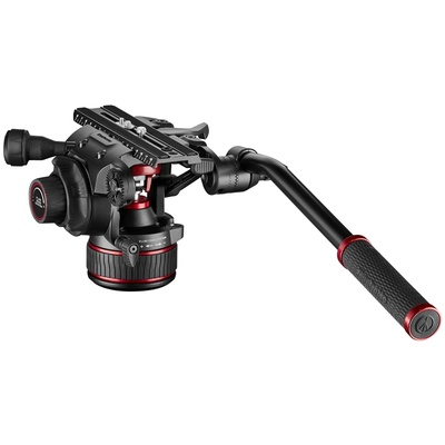 Manfrotto Nitrotech 612 Fluid Video Head With Continuous CBS
