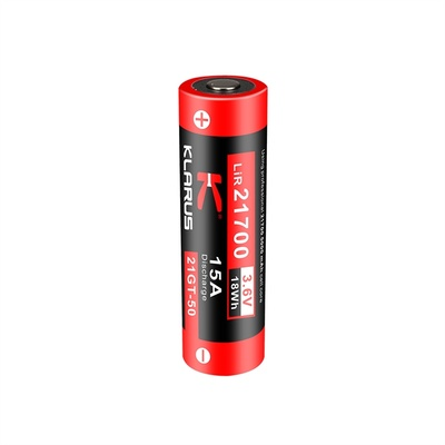 Klarus 21700 Rechargeable Li-ion Battery (5000mAh, 3.6V)