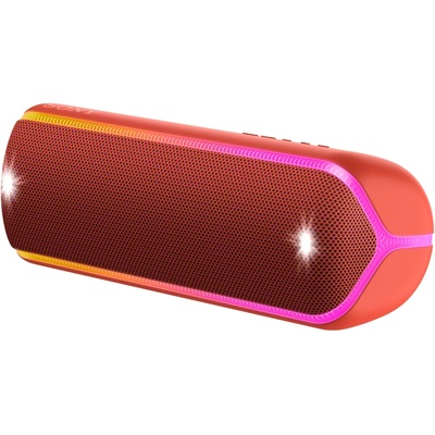 Sony SRS-XB32 Extra Bass Portable Bluetooth Speaker (Red)
