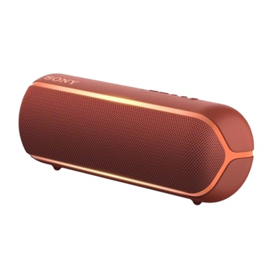 Sony SRS-XB22 Extra Bass Portable Bluetooth Speaker (Red)