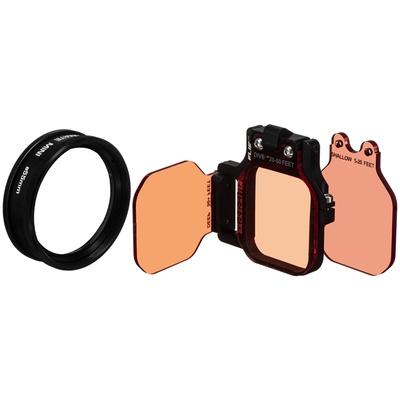 Flip Filters FLIP7 3-Filter Kit with MacroMate Mini +15 Lens