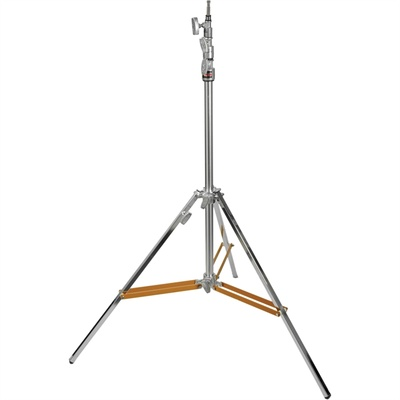 Matthews Hollywood Beefy Baby Triple Riser Stand with Rocky Mountain Leg 3.7m (Silver)