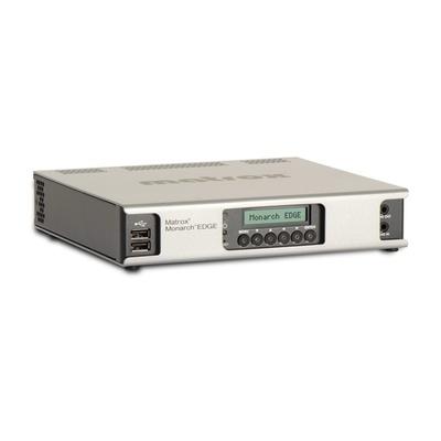 Matrox Monarch EDGE E8 4K/Multi-HD Webcasting and Remote Production Encoder