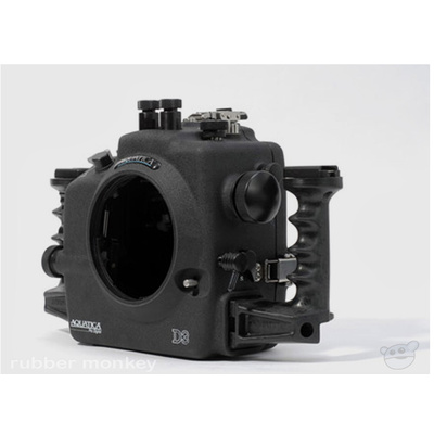 Aquatica Nikon D3 Underwater Housing with Ikelite manual bulkhead and Moisture Alarm