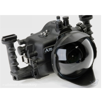 Aquatica Canon 7D Underwater Housing with Ikelite Manual Bulkhead
