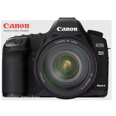Canon EOS 5D Mark II Digital SLR with EF 24-105mm Lens