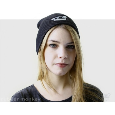 Rubber Monkey Beanie - Black