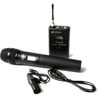 Azden 305HT UHF On-camera handheld system