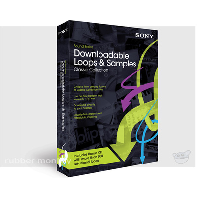 Sony Downloadable Loops and Samples - CLASSIC
