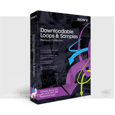 Sony Downloadable Loops and Samples - PREMIUM