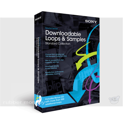 Sony Downloadable Loops and Samples - STANDARD