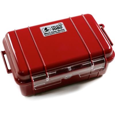 Pelican 1050 Micro Case (Red)